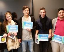 Winnaars Bizzgames competitie bij HvA MER