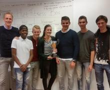 Prijsuitreiking Windesheim Managementgame SBRM