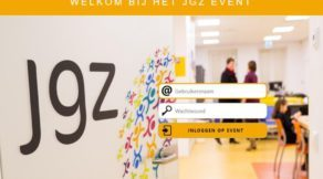 Inlogpagina JGZ game. Gamification, serious gaming voor organisatieverandering, verandertrajecten, verandermanagement, change management, zelf organiseren. Game voor teambuilding en event.