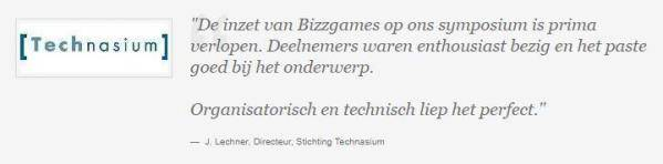 Quote Technasium Event, gamification en serious gaming met serious games